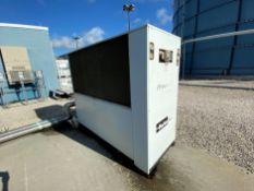 2013 Parker Biogas chiller with Hiross SFB-1362400 stainless steel separator-demister, carbon