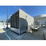 BAC 3412V galvanized steel cooling toer, 400 Ton, 103,750 CFM fan with 25 HP drive
