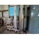 Genie 18' X 650# aluminum hand crank personnel lift