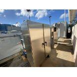 Biorem Biofilter odor control system including (2) horizontal fiberglass activated charcoal filter