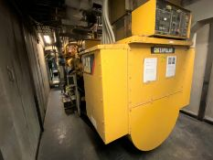 2012 CAT 3520C LFG - Methane gas powered stationary 20 cylinder generator, 1600 kW, 2000 kVA