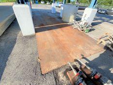 "8' X 20' X .75"" steel road plate"