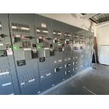 Motor control centers inclduing new Square D MCC with assorted LV starter, VSD drive controls,