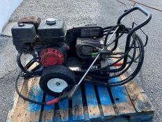 Mi-T-M 4,000 psi gas powered pressure washer