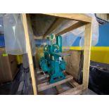 Wastecorp Sludgemaster Simplex Mn PE942 plunger pump (new - on pallet, never installed- drive