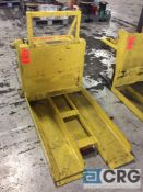 Presto CR7+20 electric/ hydraulic tipping table lift, 2000 lb capacity