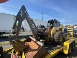 2000 CAT 246 skid steer loader, 2,890 hrs., with GP bucket, auxiliary hydraulics, fork attachment