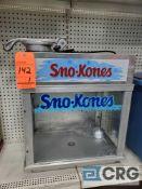 Gold Medal Deluxe SnoKonette snow cone machine