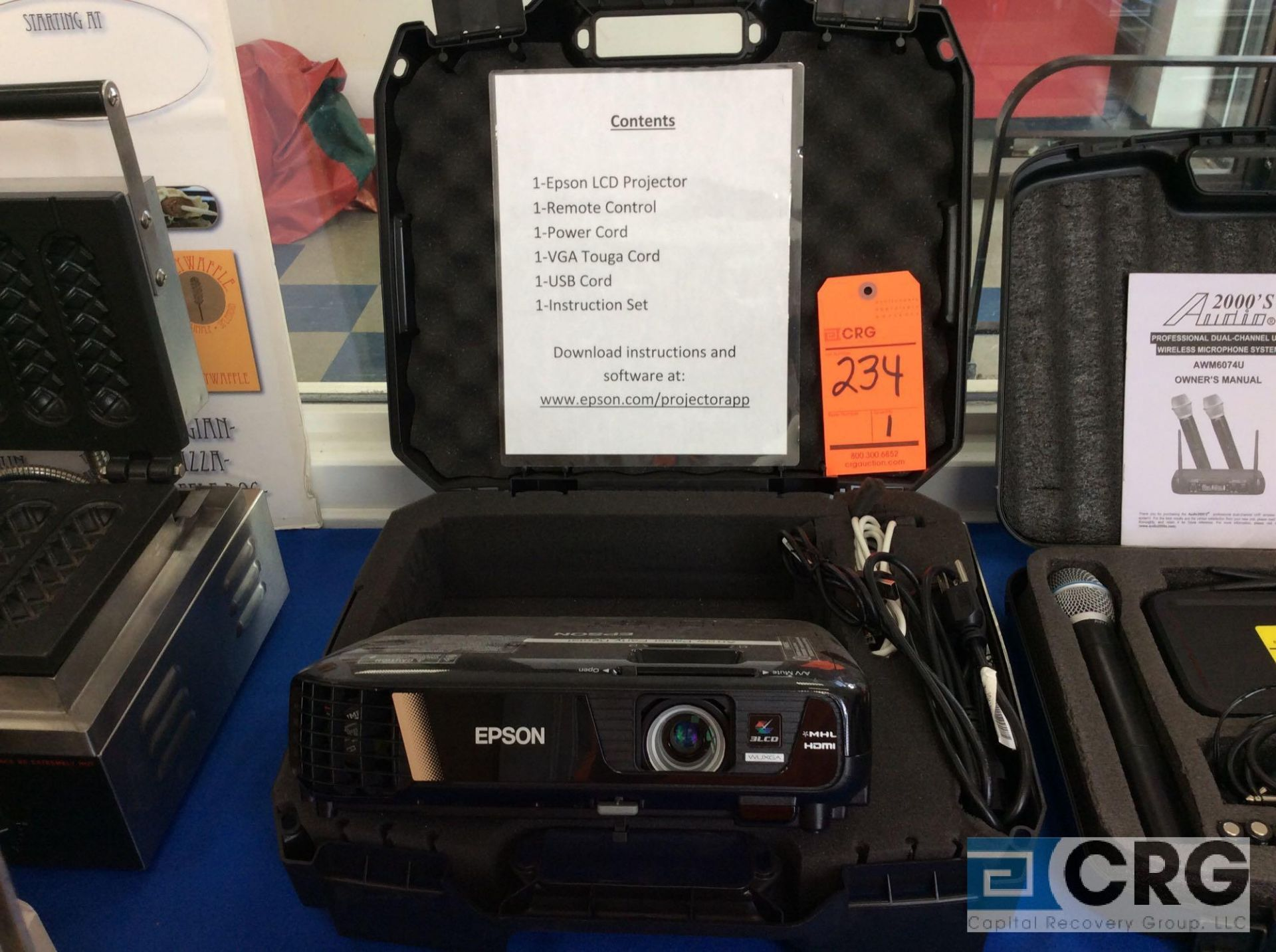 Lot 234 - Epson LCD Projector
