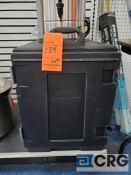 Lot of (2) assorted Carlisle and cambro portable food warmers