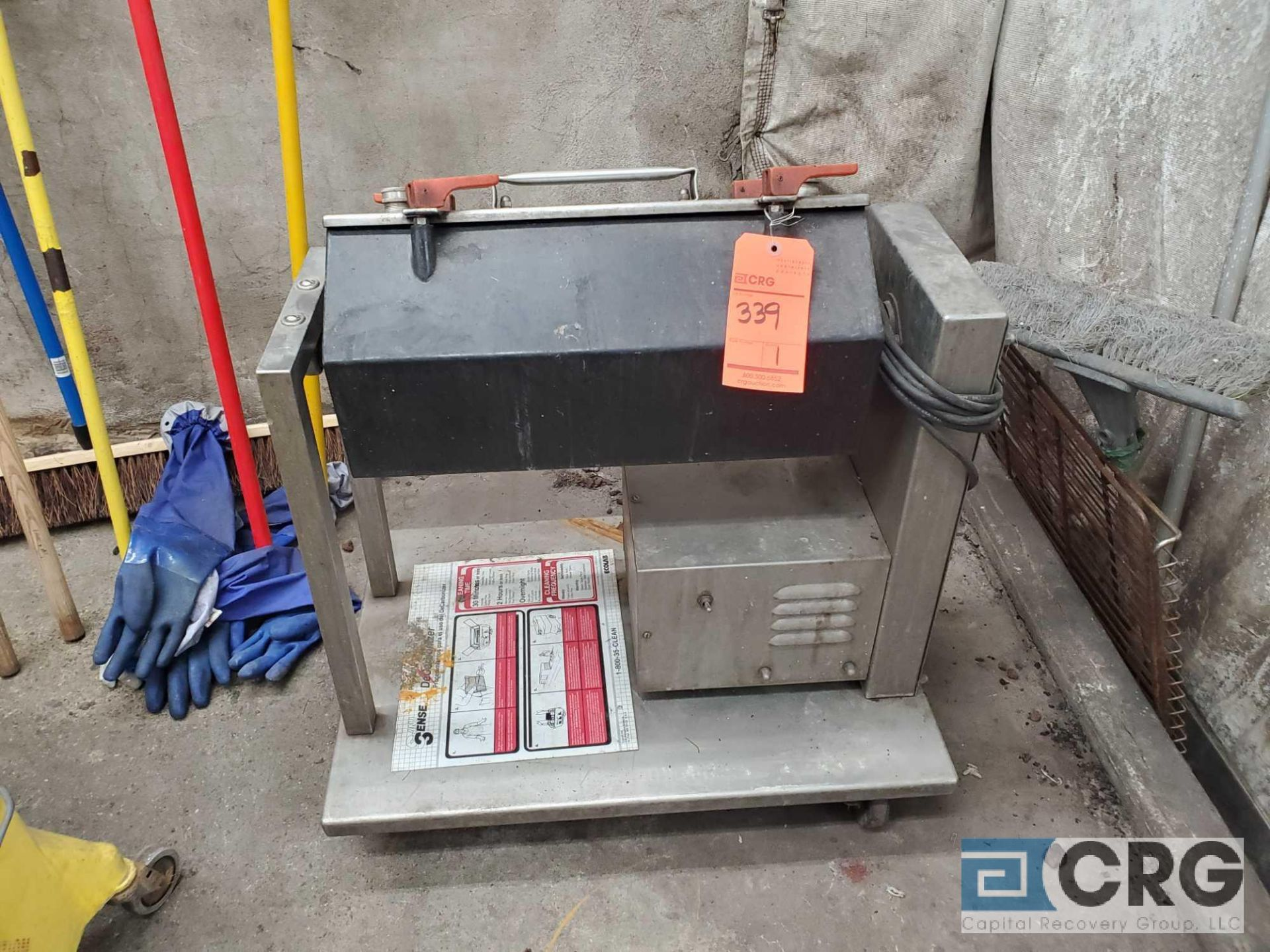 Lot 339 - Portable silver burnisher m/n E6-2, 1 phase