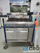 Imperial portable propane 6 burner commercial stove