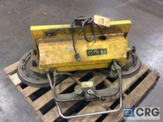 Strato Vac 3200 flat steel stock vacuum handler, 800 lb capacity