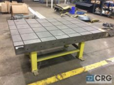 50 X 70 heavy duty steel slotted table