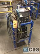 Miller XMT 304 CC/CV DC inverter arc welder, 96 max OCV, 3 phase, With 60 Series wire feed