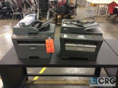 Lot of (2) Brother MFC printer/scanner/fax machines