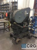 Ficep ST/SUPER 14 iron worker, 4 hp motor, sn 8834 (SEE PICTURES FOR CAPACITIES)