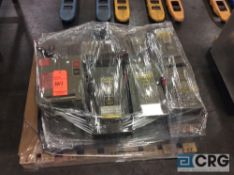 Lot of (+/- 15) asst Square D busway boxes, (ready to ship)
