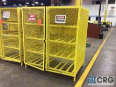 16 canister propane storage cage