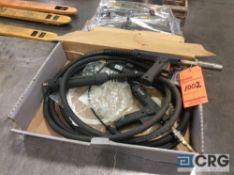 Lot of (2) American Weldquip 400 amp MIG weld gun