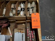 Lot of assorted fuses, contents of (1) skid