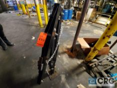 Ultra-Tow hydraulic truck crane attachment with hand winch and floor bolted base, 2000 lbs capacity,