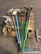 Lot of assorted conduit benders