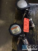 Lot of (2), Signode pneumatic heavy duty strapping tensioners