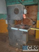 DO•ALL METALMASTER vertical band saw, 1/4 hp, 1 phase, 1725 rpm's