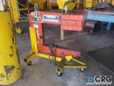 Bushman 10 ton capacity C shaped spool lifting fixture