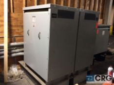 Lot of (2) MGM 3-phase dry transformers, 300 KVA, 460 volts, 233Y / 135 voltage, 60 hz
