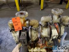 Lot of (5) assorted diaphragm pumps