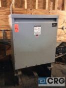 MGM 3-phase dry transformers, 300 KVA, 460 volts, 233Y / 135 voltage, 60 hz (tagged motor control