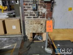 Lot of assorted inspection tooling, to include 18 in. X 24 in. granite surface plate, (2) height