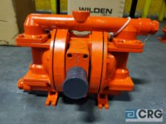 Wilden P200 Advanced Metal full stroke diaphragm pump, 1 1/2 in. diameter inlet/outlet