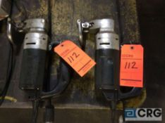 Lot of (2) Bosch nibblers, 1 phase