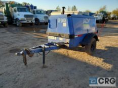 1997 Ingersoll Rand P185WJD tag along Air Compressor