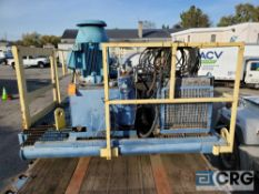 Bird Centrifuge Unit, 21,000 GVWR, 480/3ph motors, in pieces on trailer, VIN# L3-3022 [located at