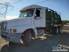 2001 Freightliner Century Liquid Vac Truck, 60,000 GVWR, 30,023 hours, with 3,200 gal. capacity