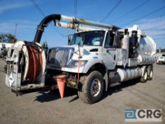 2007 International 7600 tandem axle Jet Rodder Sewer Cleaner