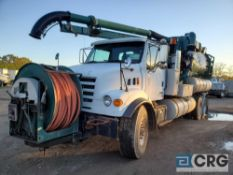 2001 Sterling tandem axle Sewer Cleaner Jet Rodder Truck, 56,000 GVWR, 17,207 hours, with 2,1000
