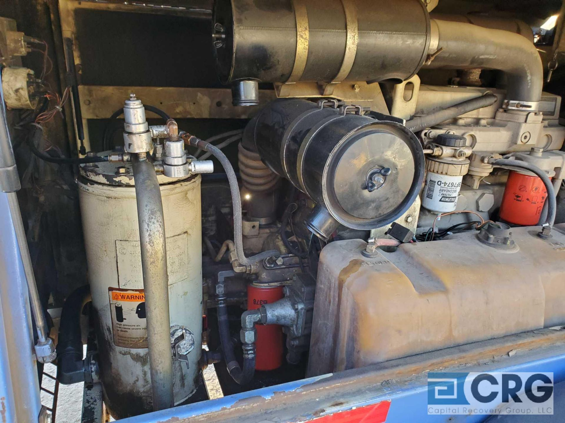 1997 Ingersoll Rand P185WJD tag along Air Compressor - Image 4 of 7