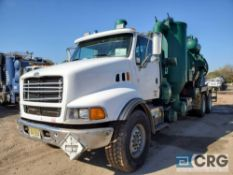 2000 Sterling tandem axle Turbo Vac Truck, 80,000 GVWR, with 3,000 gal. capacity Presvac carbon