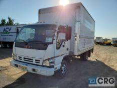 2007 GMC W4500 Box Truck w/ lift gate, 14,500 GVWR, with 16' Box and Maxon 2000 lb. lift gate, 175,