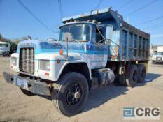 1989 Mack RD690S tandem axle Dump Truck, 70,000 GVWR, 442 hours, with Benson 51463 dump body, Mack