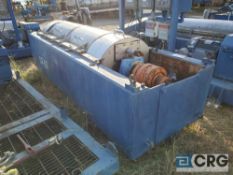 1999 Centrisys CS18-4 Centrifuge Unit, in pieces, with 480 3/ph motors, VIN# 184119838 [located at