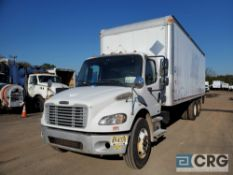 2006 Freightliner M2106 Box Truck w/ lift gate, 52,000 GVWR, 17,389 hours, with 26' Morgan
