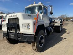 1981 Mack RD6865 tandem axle Liquid Vac Truck, 62,000 GVWR, 2,855 hours, chassis only, 436,035