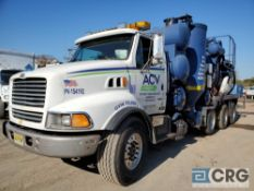 1999 Sterling L951 tag axle Turbo Vac Truck, 73,000 GVWR, with 3,000 gal. capacity Presvac carbon