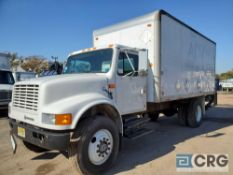 1992 International 4700 Box Truck w/ lift gate, 25,000 GVWR, 5 speed eaton manual transmission, with